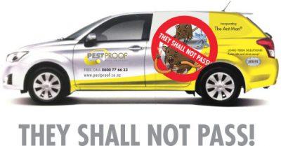 Pestproof Pest Control Vehicle